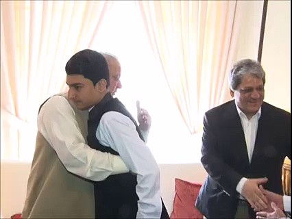 PM Nawaz Meets a Cancer Patient Anwarullah Afridi