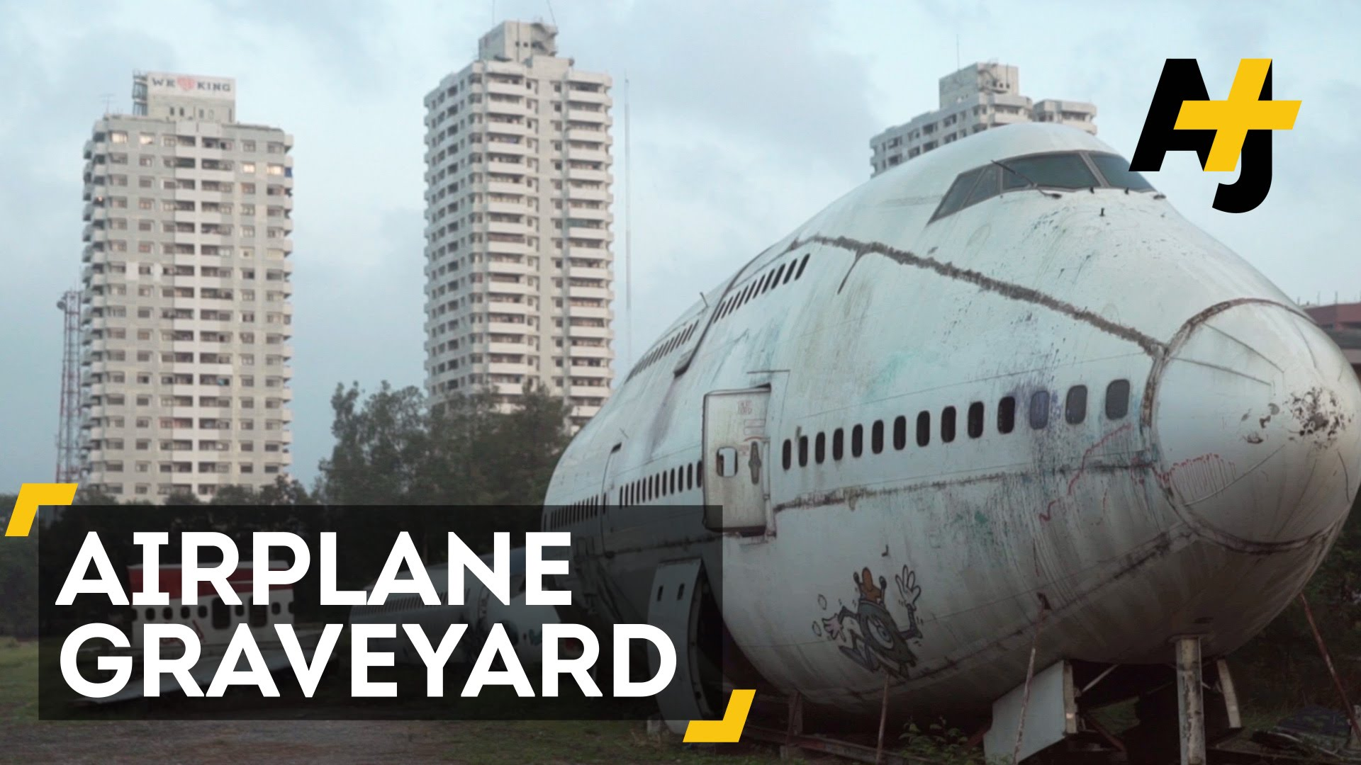 The Secret Of Bangkok's Airplane Graveyard