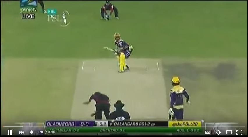 Bismillah Khan 55 off 30 Balls vs Lahore Qalandars PSL Match 18