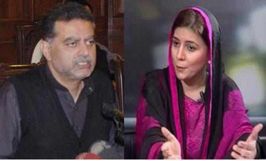 Heated Debate Between Naz Baloch And Zaeem Qadri