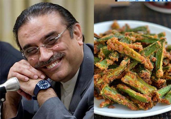 Zardari Used PIA Boeing 737 For Okra Curry