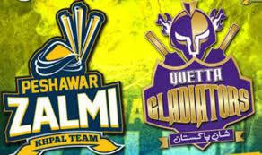 Peshawar Zalmi vs Quetta Gladiators 1st Playoff Full Highlights February 19 2016