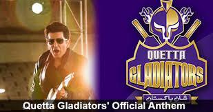 Quetta Gladiators Official Anthem By Faakhir Mehmood & Fahim Allan Faqeer