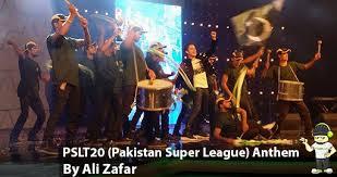 Pakistan Super League Theme SONG By Ali Zafar PSL Official anthem