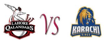 Karachi Kings Vs Lahore Qalandars PSL 2nd T20 MATCH Full 5 February 2016