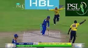 Last Ball ! Last Wicket ! 4 Runs Required ! Peshawar Zalmi vs Karachi Kings