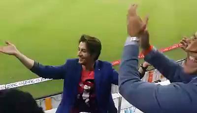 Ali Zafar Provoking Hamza Ali Abbasi During Match