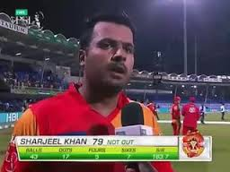 SHARJEEL KHAN 67 RUNS IN PSL AGAINST LAHORE QALANDER 2016
