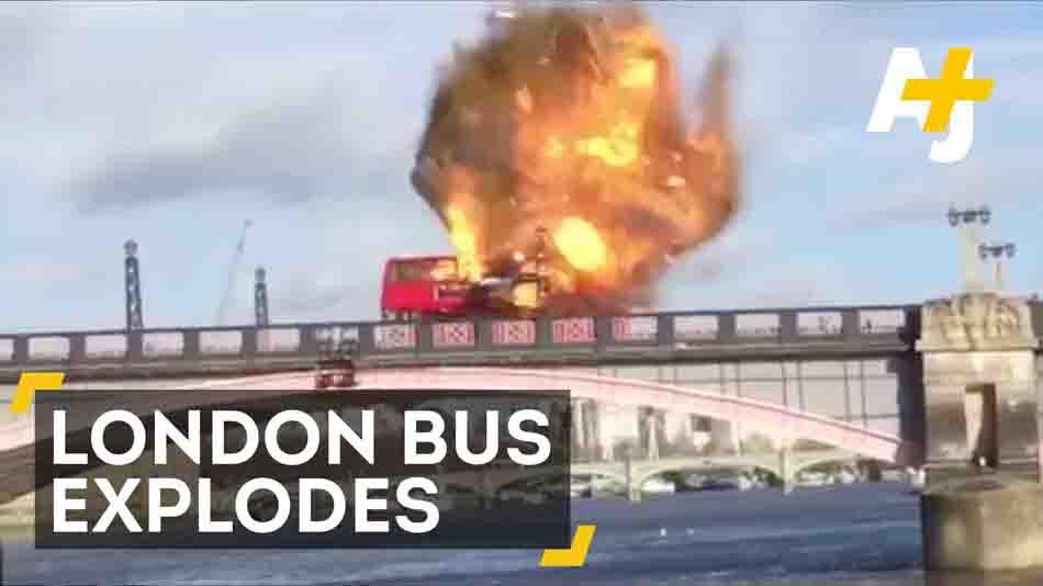 London Bus 'Explosion'