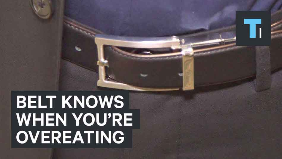 Belt Knows When You're Overeating