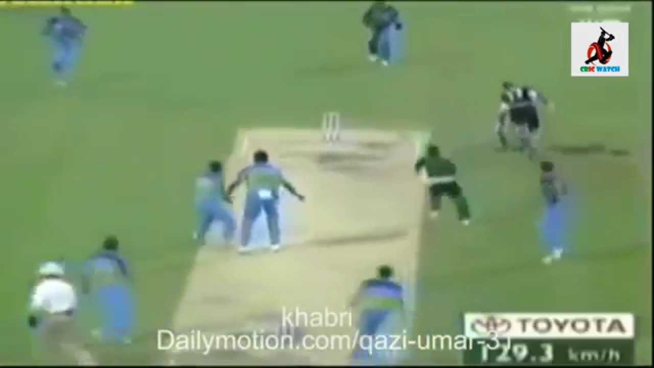 1 Ball 1 Runs 1 Wicket Pak Win vs India