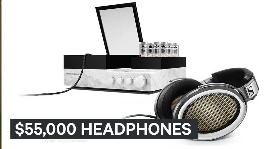 $55,000 Headphones
