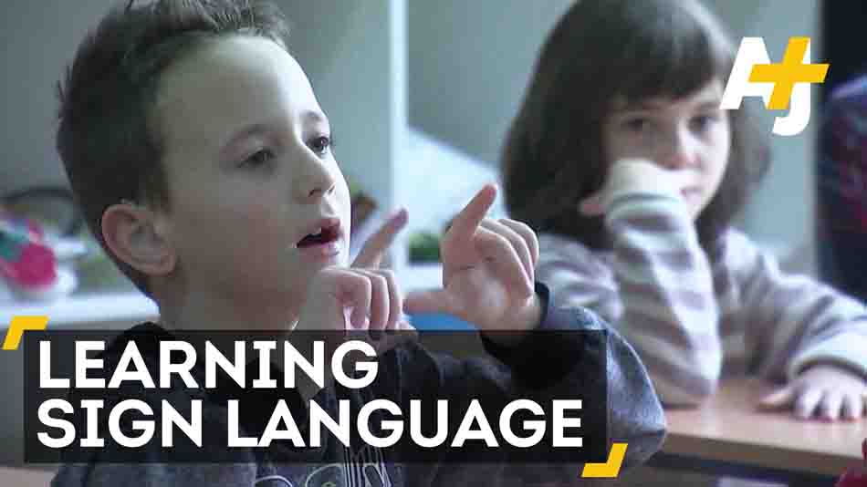 Students Learn Sign Language To Help Out Their Classmate