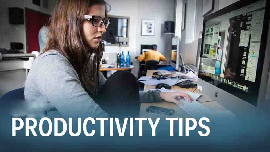 Four Ways To Make Your Workday More Productive