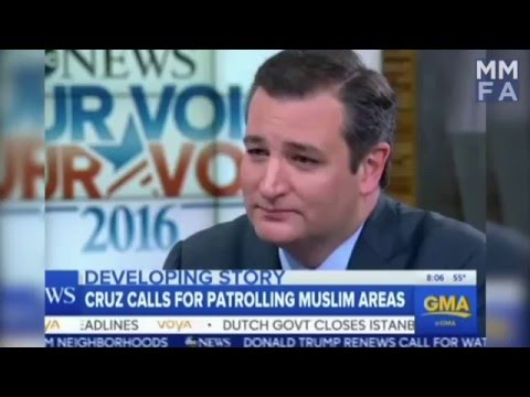 US Media Slam Ted Cruz For Calling To Surveil Muslim Communities