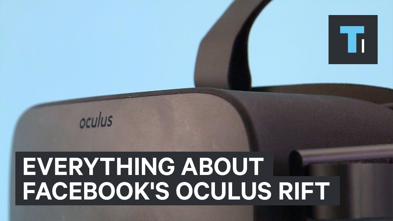 Everything about Facebook's Oculus Rift