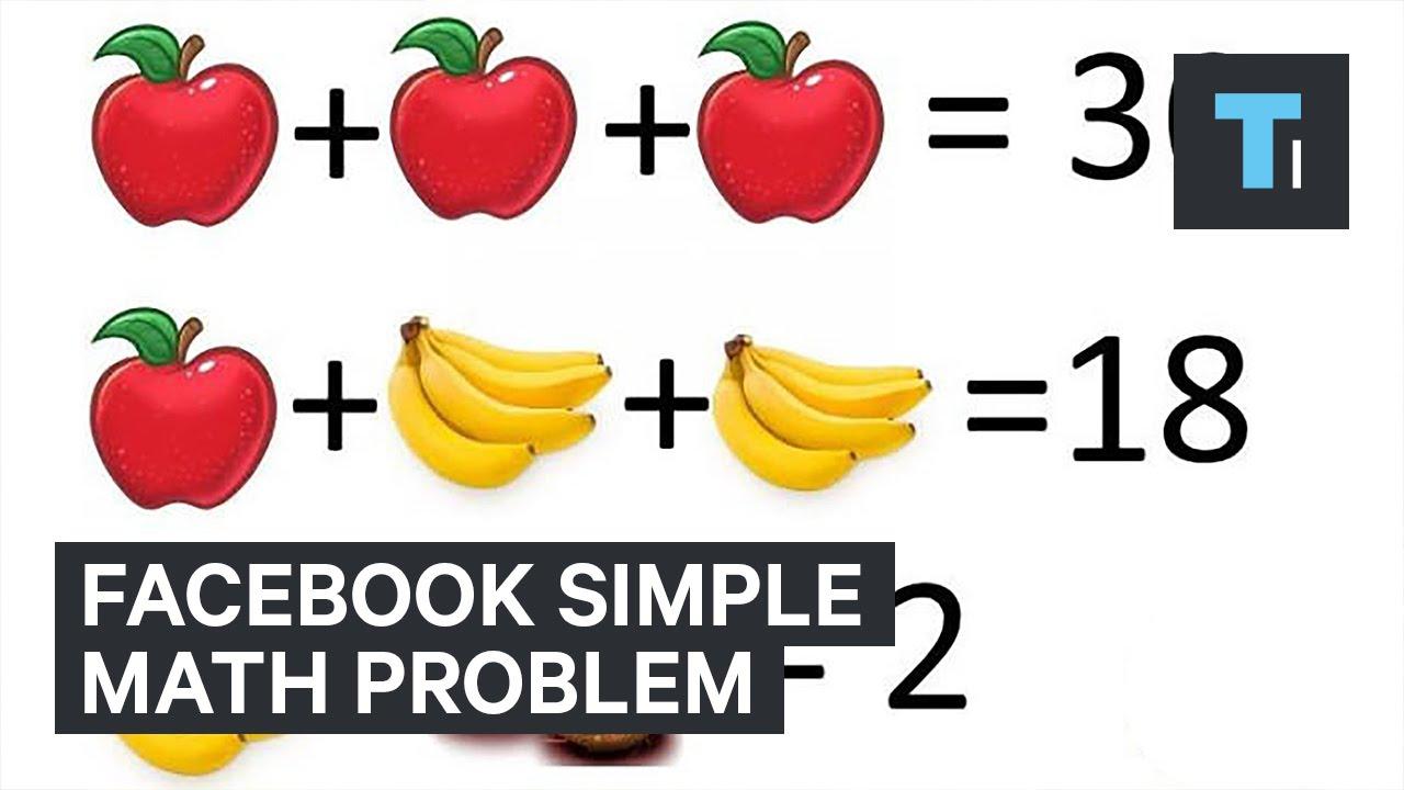 Facebook-simple-math-problem