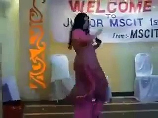 Teacher Dance in Lahore Private College for Students