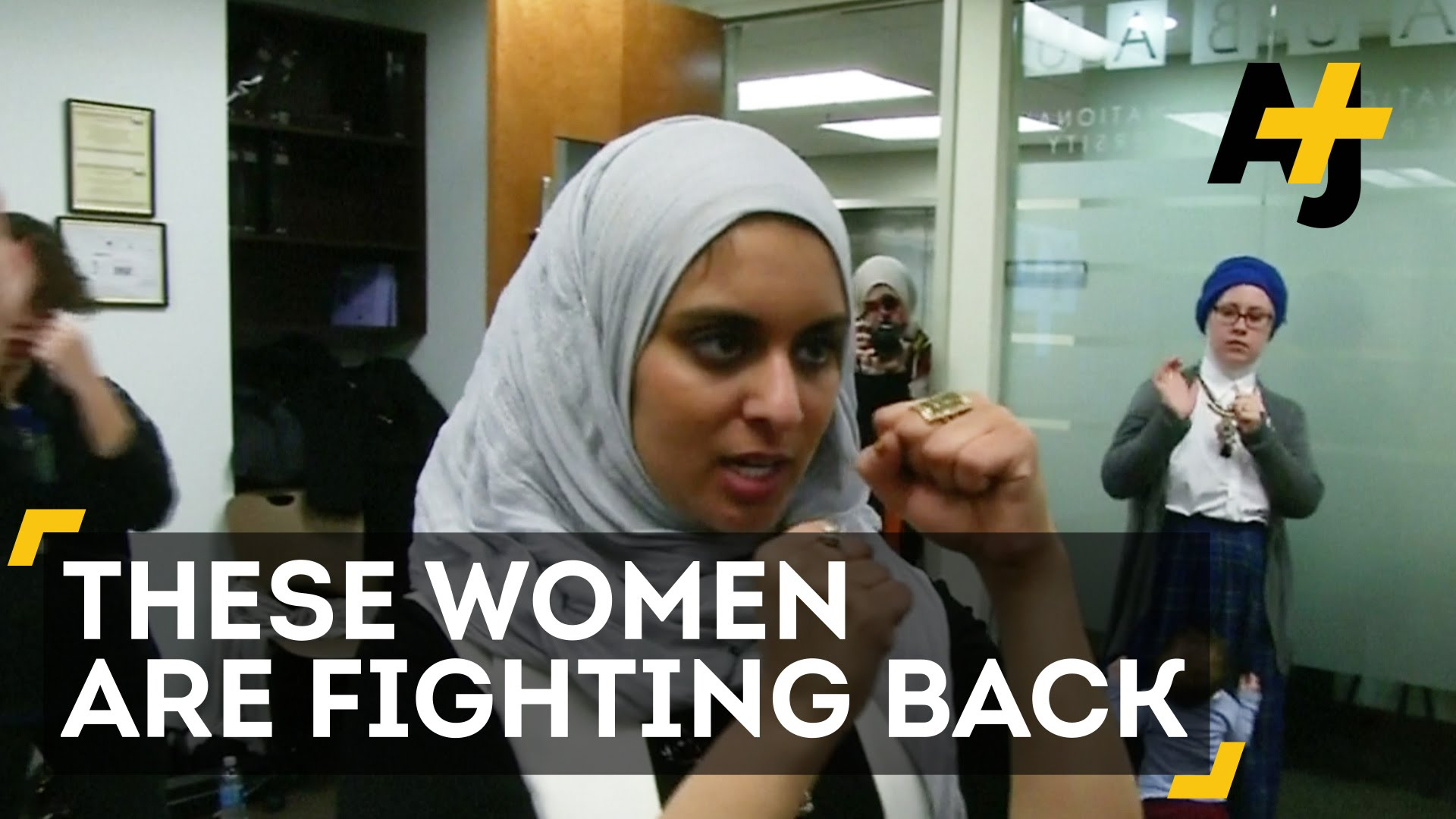 Muslim Women Train to Take on Attackers