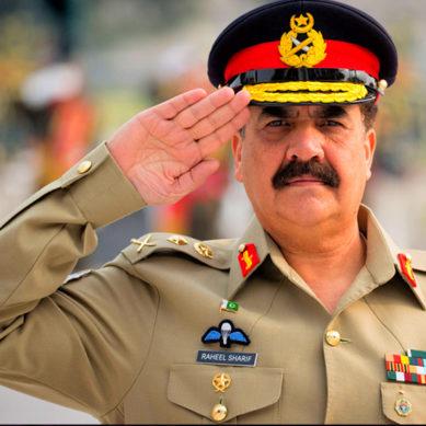 Pakistan's Former Army Chief Raheel Sharif Speaks At World Economic Forum