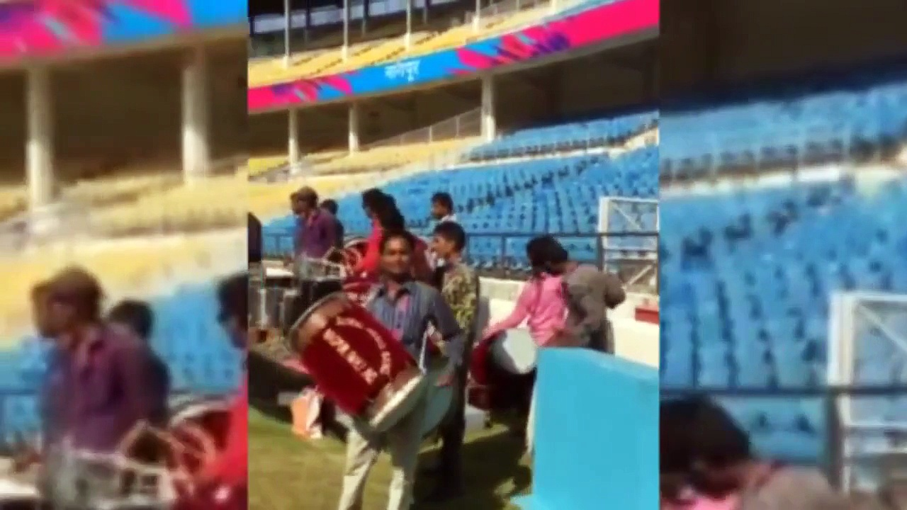 Virat Kohli Dancing On The Beats Of 'Dhol' During Practice Session