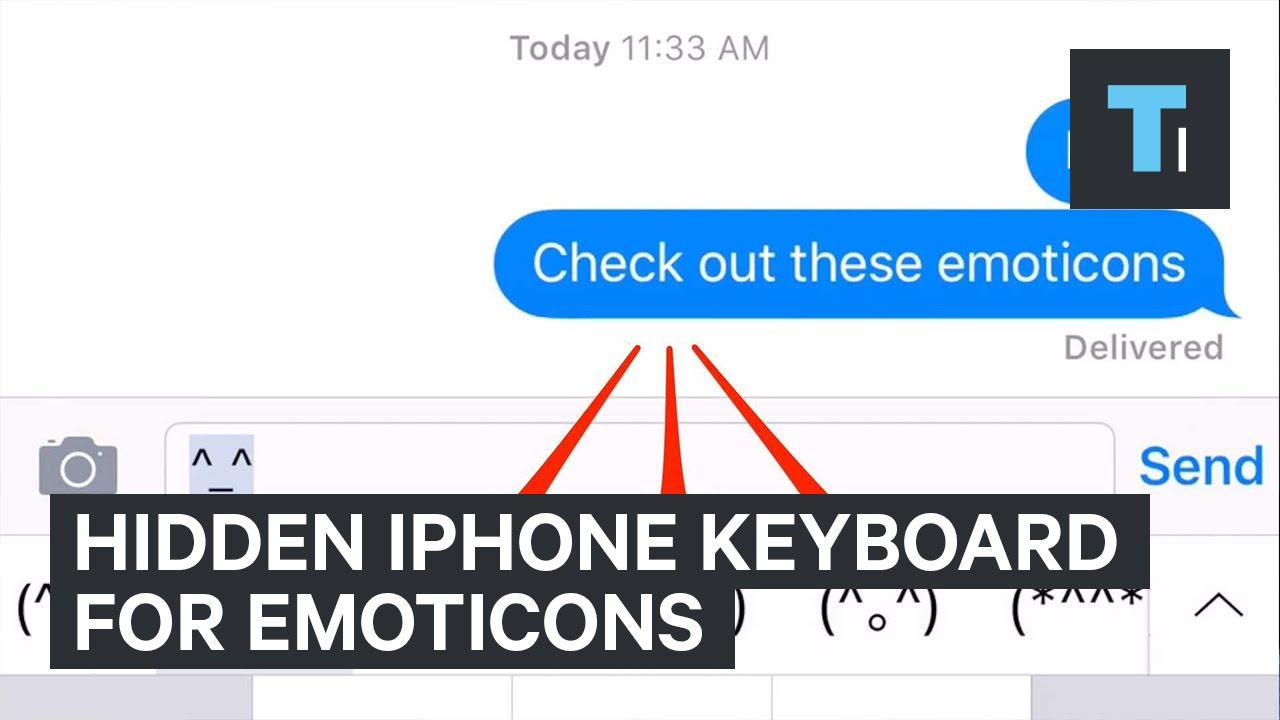 iPhone-Emoticon-Keyboard
