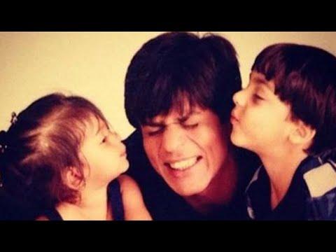 RARE-Shah-Rukh-Khan-Aryan-and-Suhana-CAUGHT-On-Camera