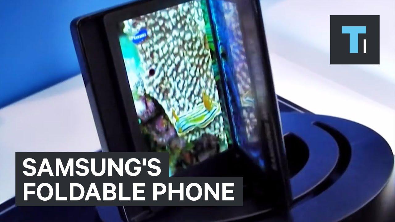 Samsungs-foldable-phone