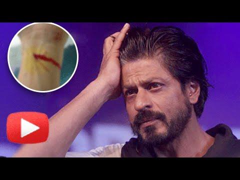 Shah-Rukh-Khan-CRAZY-Fan-CUTS-WRIST-SRK-REACTS