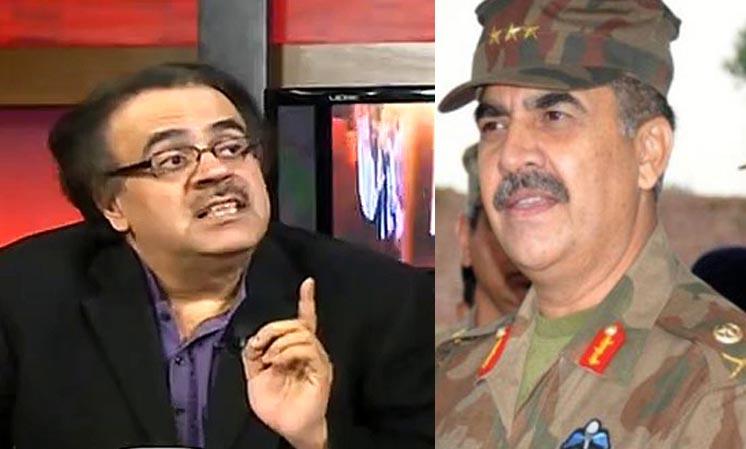 Shahid Masood's Analysis on Raheel Sharif's Stance