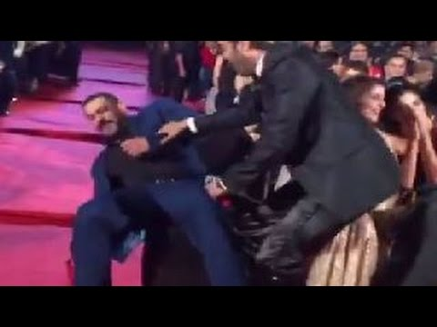 Bollywood Stars 'FALL' in Public
