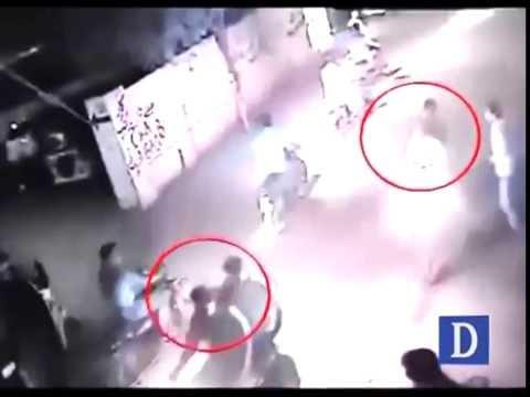 CCTV Footage of MQM Workers Murder