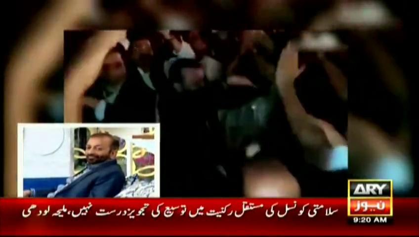 Farooq-Sattar-Dance-with-Sanam-Baloch-on-Shakar-Wandaan-Re