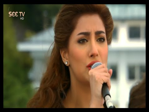 Mehwish-Hayat-Singing-in-Sunrise-From-Istanbul-SEE-TV