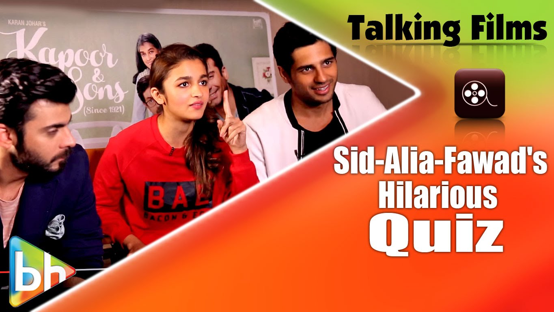 Talking-Films-HILARIOUS-Quiz-With-Sidharth-Malhotra-Alia-Bhatt-Fawad-Khan