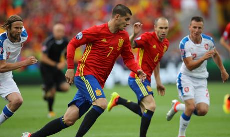 Spain vs Czech Republic Highlights All Goals