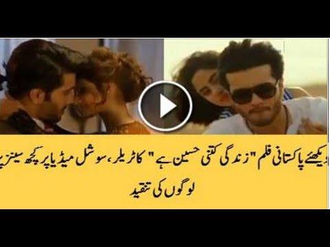 Check-out-Feroz-Khan-and-Sajal-Ali's-Movie-Zindagi-Kitni-Haseen-Hai-Promo