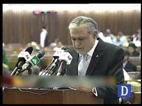 Ishaq Dar Funny Speech During Budget in National Assembly