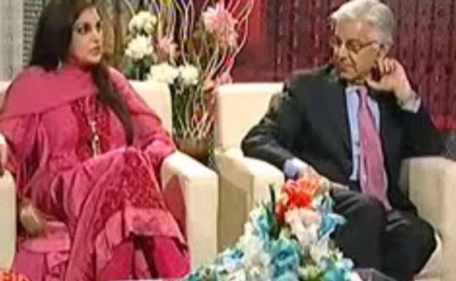 Khawaja Asif, Kashmala Tariq