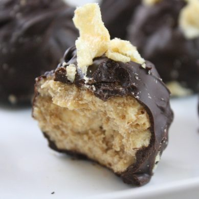 Ramadan Food Diaries #25 Peanut Butter Potato Chip Truffles
