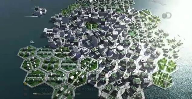 Floating Cities Of The Future