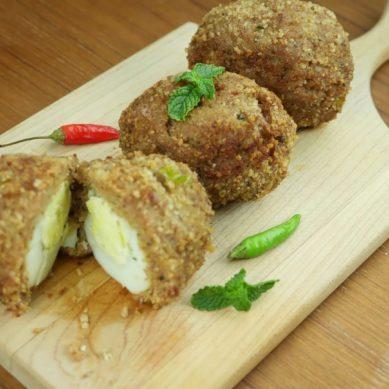 Ramadan Food Diaries #30 Nargisi Kababs