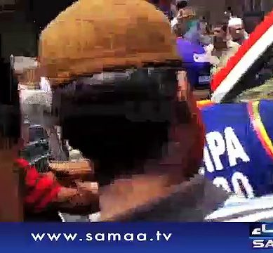 MQM Workers On Funeral of Amjad Sabri
