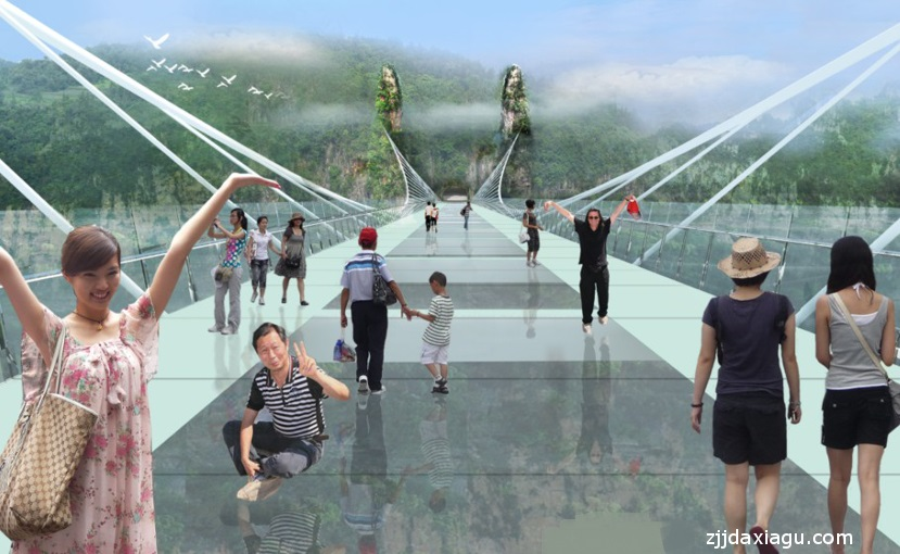 China's giant glass bridge hit with sledgehammer: Is it safe enough?