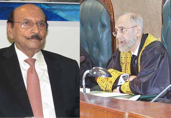 Chief Justice SC Lashes Out CM Sindh