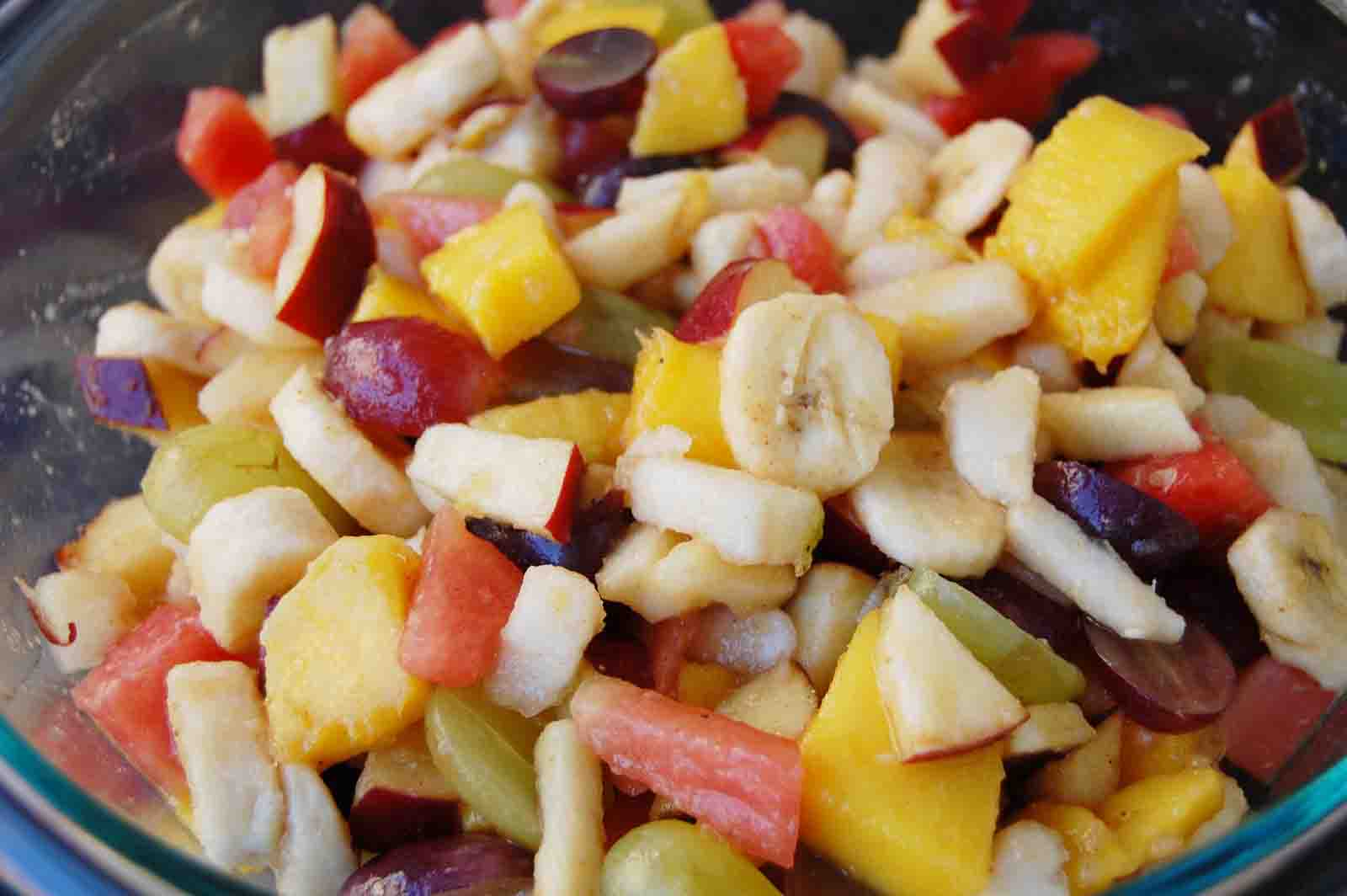 Ramadan Food Diaries #12 Quick Fruit Chaat