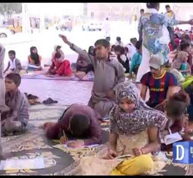 Footpath School In Karachi