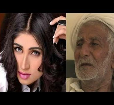 Exclusive interview – Qandeel Baloch's Father