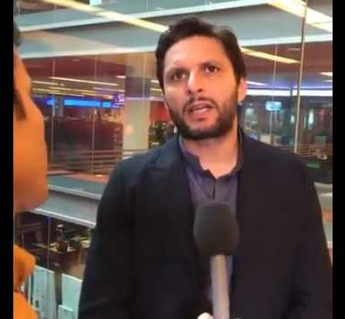 Latest Interview of Shahid Afridi