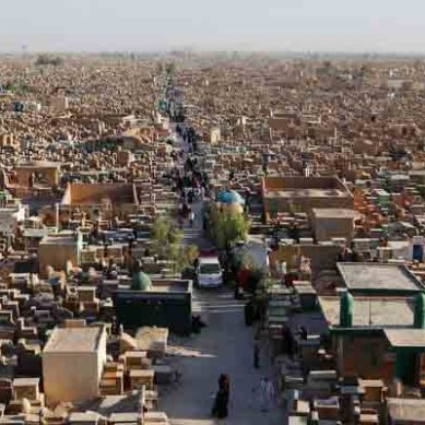 Iraq: The World's Biggest Cemetery In Najaf